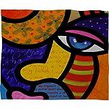 DENY Designs Steven Scott Gretchen Buys A Hat Fleece Throw Blanket, 30 x 40 offers