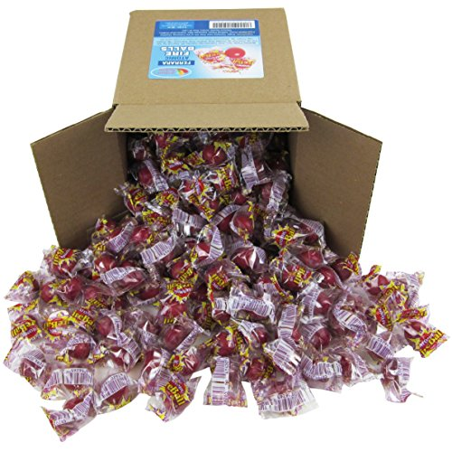 Fireball Candy Bulk - Atomic Fireballs Medium 3LB Individually Wrapped Party Box 6x6x6 2.4 LB/38 oz Family Size