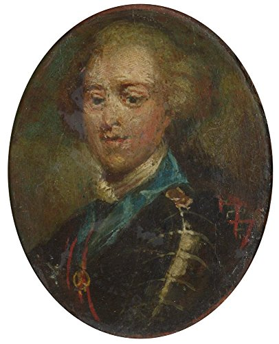 High Quality Polyster Canvas ,the Reproductions Art Decorative Prints On Canvas Of Oil Painting 'French Prince Charles Edward Stuart (The Young Pretender) ', 12 X 15 Inch / 30 X 38 Cm Is Best For Bathroom Decor And Home Gallery Art And Gifts