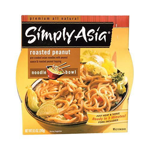 (Simply Asia Roasted Peanut Noodle Bowl, 8.5-ounces (Pack of 6))