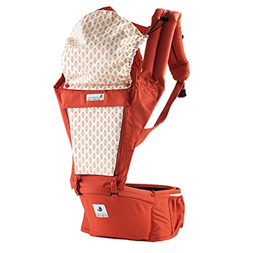 SINNAYEO - Orga Carrot Organic Cotton Baby Hip Seat Carrier by SINNAYEO