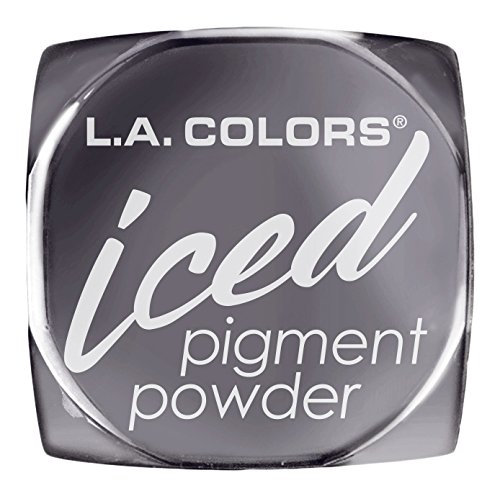 L.A. Colors Iced Pigment Powder, Foiled, 0.11 Ounce (Pack of 3)