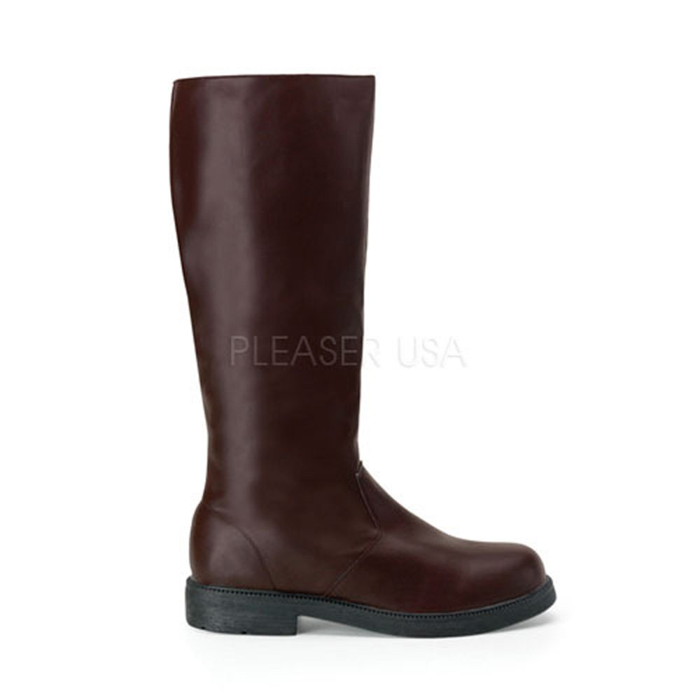 Funtasma Jedi Warrior Boots Riding Boots Officer's Boots CAP-100 B0021290XI Small 8-9|Brown
