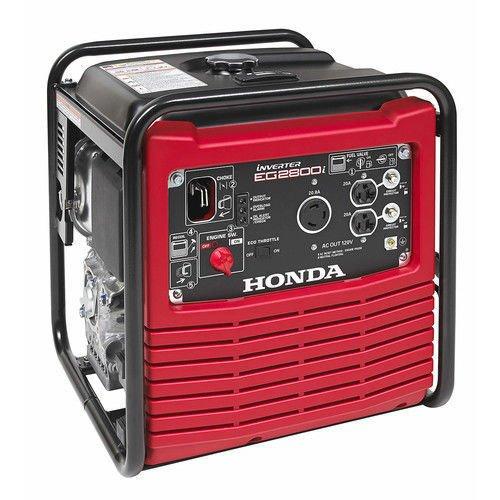 Honda EG2800i 2,500W 30 Amp Inverter Generator 661072 (Coleman Honda Generator)