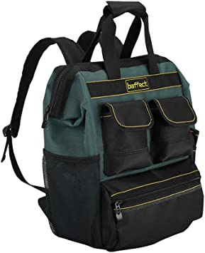Tool Backpack Mit Werkzeug Organizer Baffect Elektriker Werkzeugtasche Quick Access Tool Backpack Handwerker Organizer Bag Techniker Tasche Fur Elektriker Techniker Amazon De Baumarkt