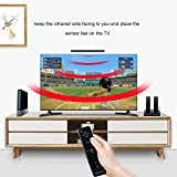 Wireless Sensor Bar, Lavuky WS02 Infrared Ray Sensor Bar for Nintendo Wii/Wii U Console Compatible with PC - Black