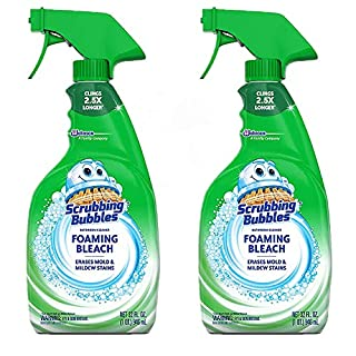 Scrubbing Bubbles Foaming Bathroom Cleaner with Bleach - 32 Fl oz - 2 pk