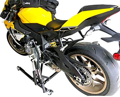 SV Racing Parts for Yamaha R1 2004-2006 Models Black Custom Paddock Style Hydraulic Side Lift Motorcycle Stand
