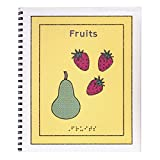 Childrens Braille Book - Fruits