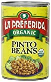 La Preferida Beans Pinto Organic, 15-Ounce (Pack of 12)