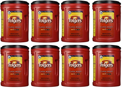 Folgers Coffee, Classic(Medium) kqFKHH Roast, 48 Ounce, 8 Pack by 'Folgers