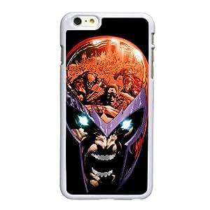 Funda iPhone 6 6S más la caja del teléfono celular de 5.5 pulgadas funda blanca magneto M5R5UX
