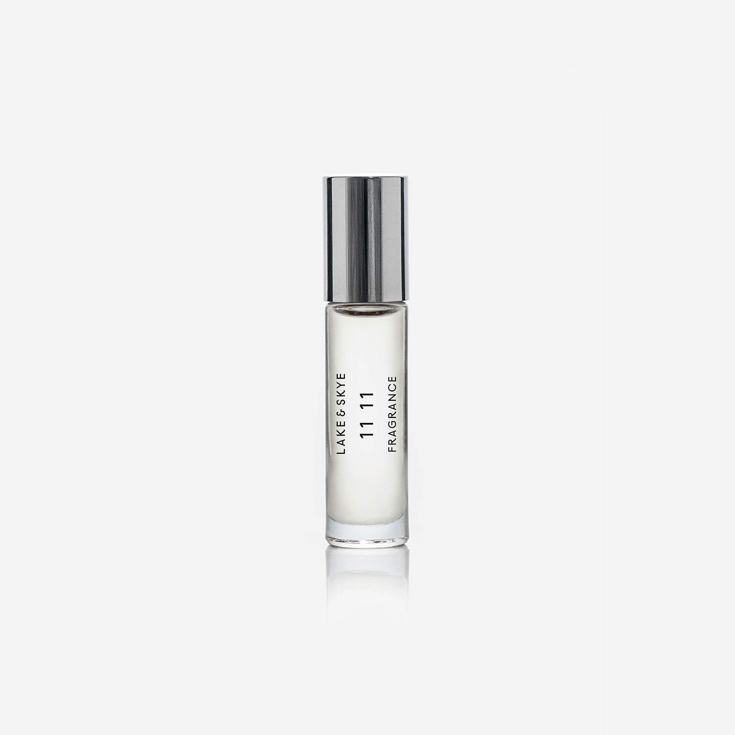 LAKE & SKYE 11 11 - Rollerball Fragrance Oil - Best Selling Unisex Fragrance Collection With a Musky Blend of Natural White Ambers. (0.33 oz 10 ml)
