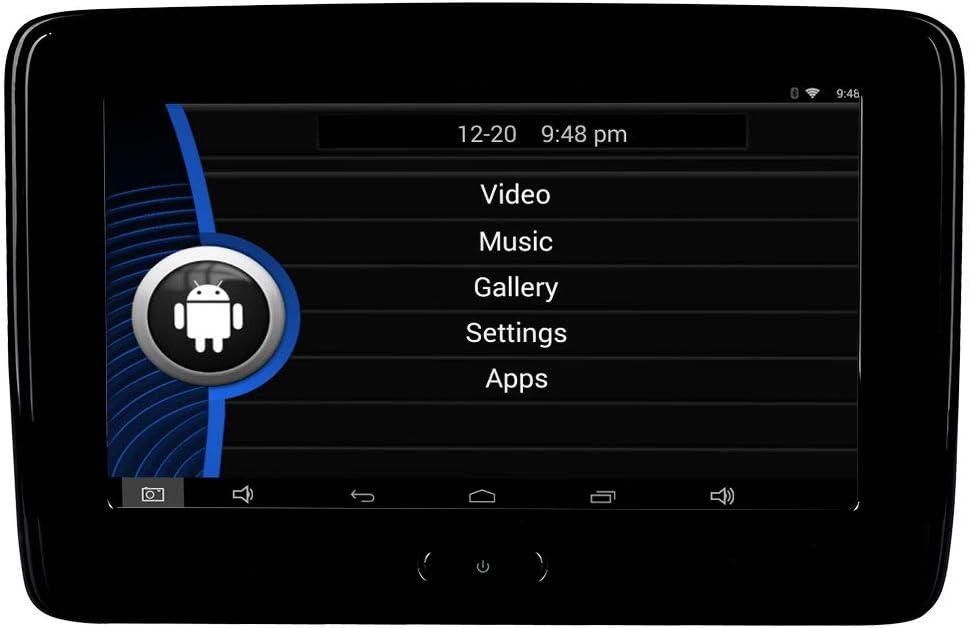 TOPNAVI 10.1Android 6.0 Voiture Appuie-t/ête Arri/ère Lecteur avec WiFi USB Bluetooth Auto Radio Appui-T/ête Moniteur De Voiture Multim/édia