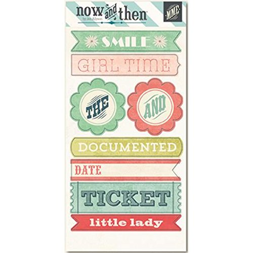 Now & Then Mildred Label Stickers-Girls (並行輸入品)   B00ISOJPD8