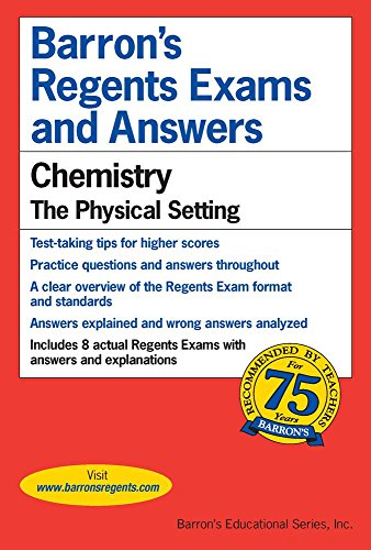 Barrons's Regents Exams and Answers: Chemistry, the Physical Setting cover