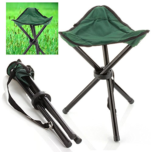 Lightweight Backpacking Chair Color Army Green Pocket