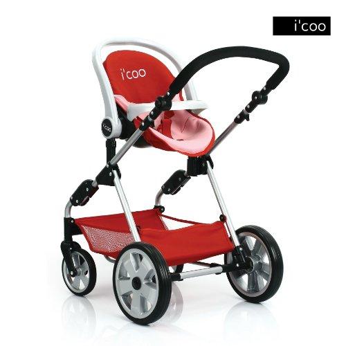Amazon.com: Hauck Doll Stroller Pram I'coo Grow With Me PlaySet ...