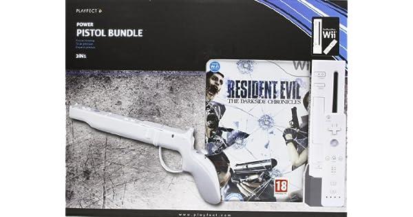 Pack Resident Evil: Darkside Chronicles + Pistola: Amazon.es ...