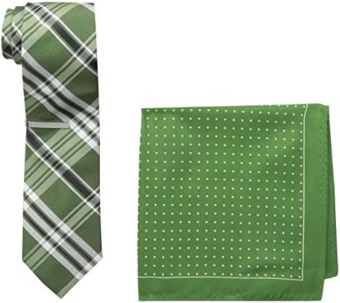Nick Graham Men's Green Tie Instant Style Kit