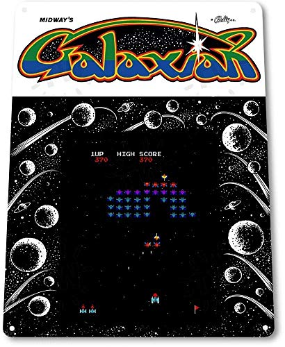 BVVC TIN Sign Galaxian Arcade Shop Game Room Art Marquee for sale  Delivered anywhere in Canada