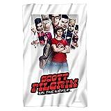 Movie Poster -- Scott Pilgrim -- Fleece Throw Blanket (36''x58'')