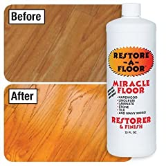 This remarkable restorer truly is a miracle, there is nothing like it on the market today that allows you to obtain the results that Restore -A- Floor does. Whether its tile floor in the hallway, wood paneling in the family room, cabinets in ...
