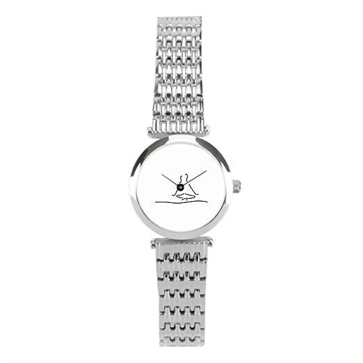 winlighting a jogasitz tiempo mujeres mejores relojes de acero inoxidable plata: Amazon.es: Relojes