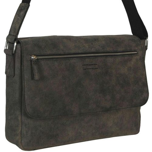 Leonhard Heyden Laptop - Boston Bag M marron