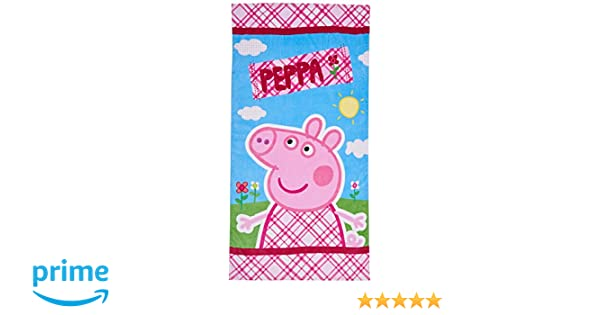 EONE Peppa Pig ABB3515 - Toalla de playa, 70 x 140 cm: Amazon.es: Juguetes y juegos