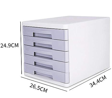 Carpetas Gabinete para archivos de cinco capas gabinete para archivos de sobremesa A4 gabinete de datos
