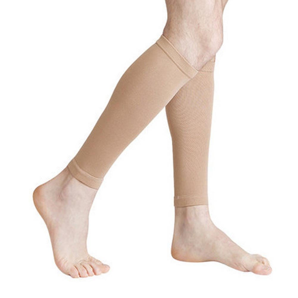 Women's Medical Compression Stockings, Knee High Open Toe Toeless Compression Socks Calf Compression Sleeve Footless Socks For Swelling,Varicose,Veins,Edema