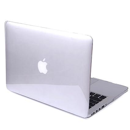 DETUOSI MacBook Air 13.3 Cover Case,[Glossy Design] Hard Crystal Case para Apple MacBook Air 13.3(Modelo:A1466 / A1369) Funda Carcasa de ...