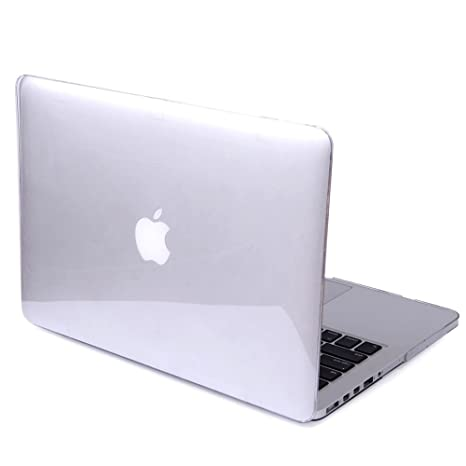 DETUOSI MacBook Air 13.3 Cover Case,[Glossy Design] Hard Crystal Case