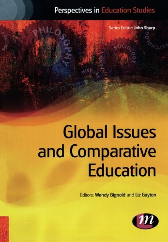 Pdf Teaching Global Issues and Comparative Education (Perspectives in Education Studies Series)