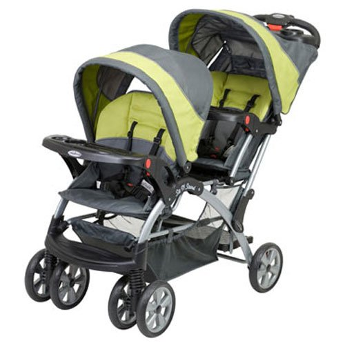 Baby Trend Sit And Stand Double Stroller Carbon - 1