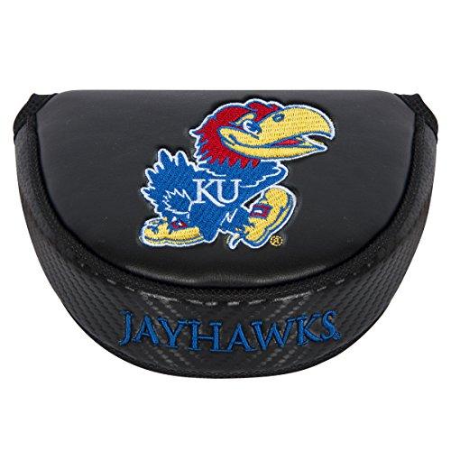 Team Effort NCAA Kansas Jayhawks Mallet Putter Coverblack Mallet Putter Cover, Black, NA (Cover Putter Ncaa)