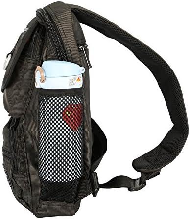 Vanlison Sling Bag Chest Shoulder Backpack Shoulder Bag Multipurpose Day Backpack For Men Women Black L Sport Freizeit