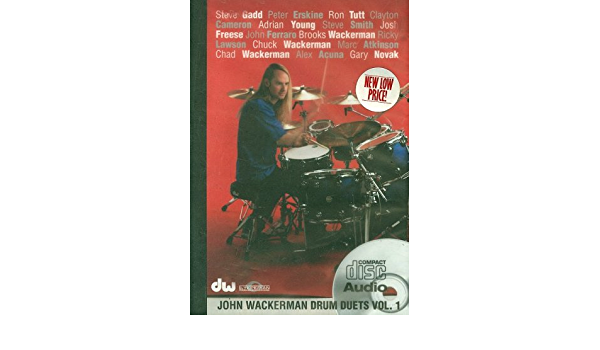 Drum Duets, Volume 1: Amazon.es: Wackerman, John: Libros en ...