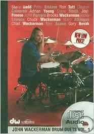 Drum Duets, Volume 1: Amazon.es: Wackerman, John: Libros ...
