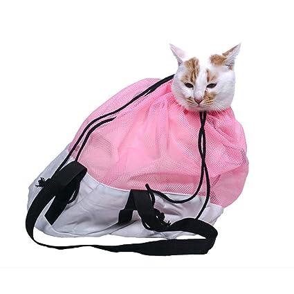Weehey Bolsa de sujeción para Gatos Bolsa de Aseo para Gatos ...