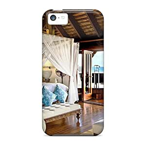 Durable Protector Case Cover With Luxirous Bed Room Hot Design For Iphone 5c