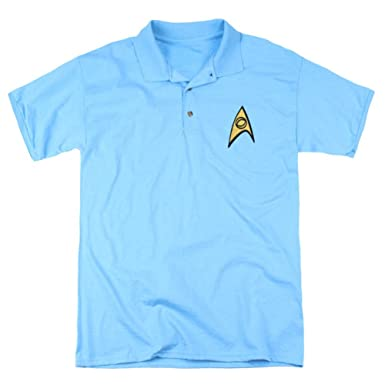 Star Trek Starfleet Uniform - Polo para Adulto: Amazon.es: Ropa y ...