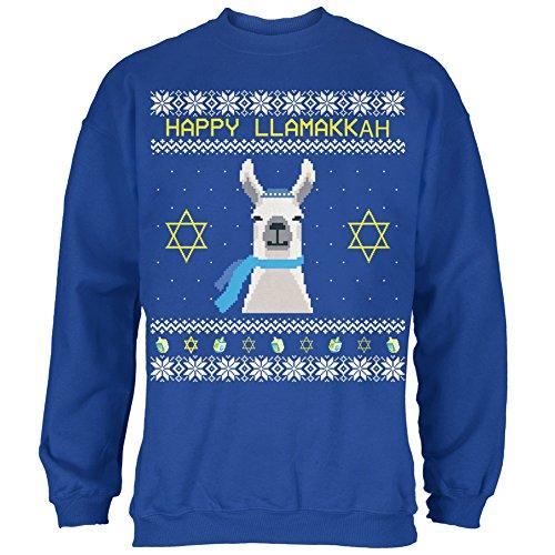 Llama Llamakkuh Ugly Hanukkah Sweater