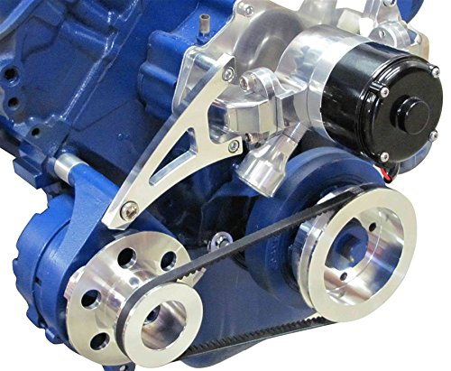 (Ford 429 460 Big Block Alternator Bracket - Electric Water Pump)