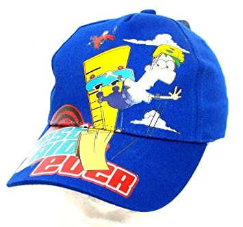 Phineas And Ferb Baseball Cap Hat Clothes, Shoes & Accessories