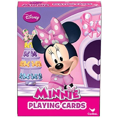 Minnie Mouse Playing Card Deck by Cardinal