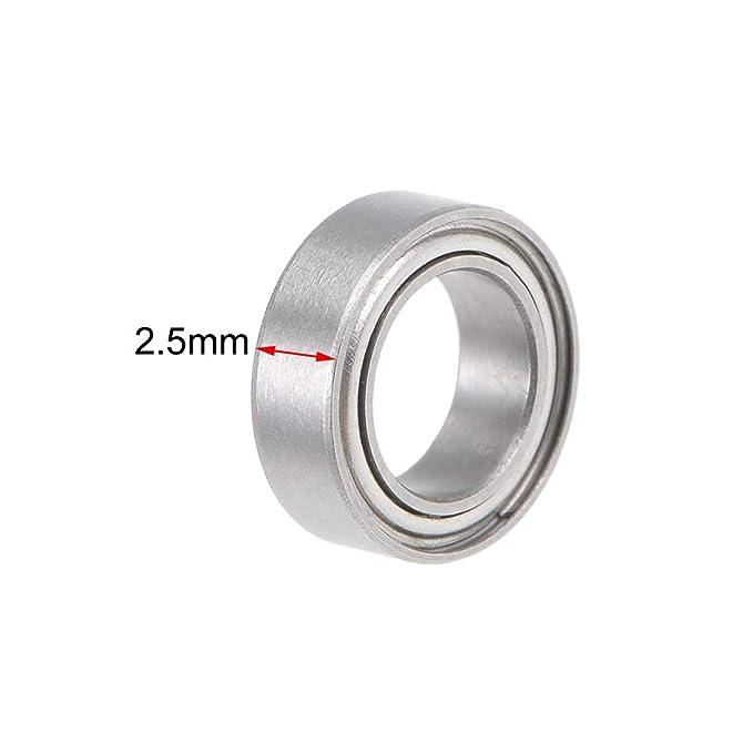 2x5x2.5 mm SMR52zz 440c Stainless Steel Ball Bearing Bearings MR52zz 20 PCS