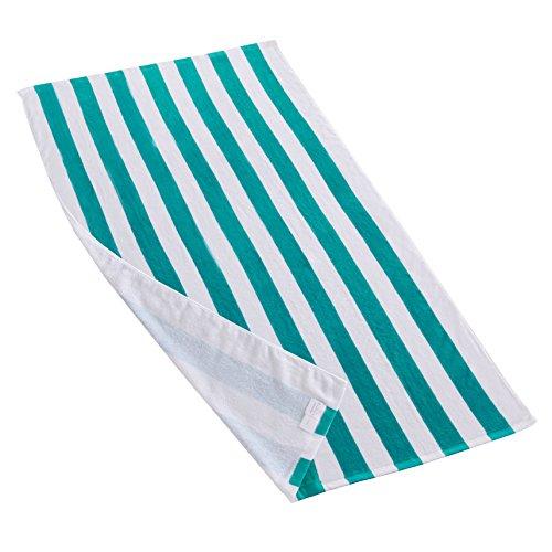 Exclusivo Mezcla Cabana Striped Towel - teal