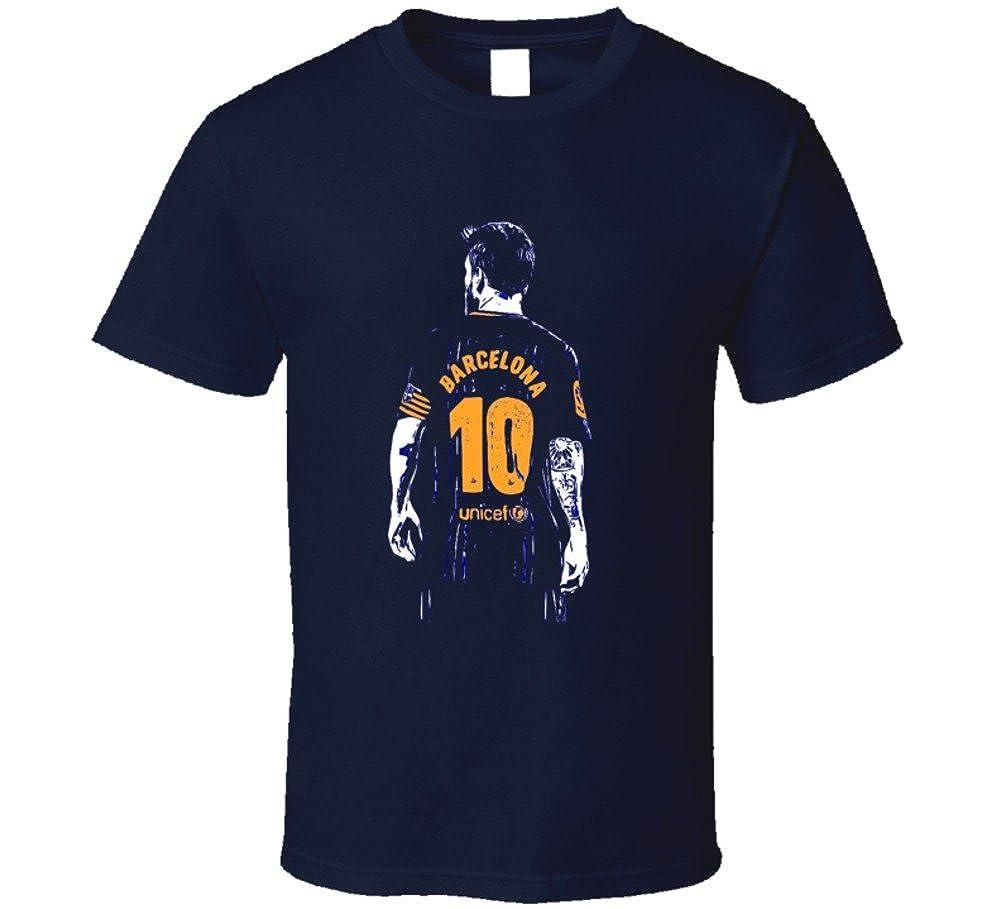 half off 29f1e e0f0b Amazon.com: Lionel Messi Barcelona Fan Jersey Argentina T ...